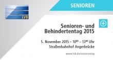 LVB-Senioren- und Behindertentag | LVB-Senioren- und Behindertentag