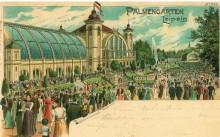 Stadtteil-Führung am Samstag 25.8.2018 ab 14 Uhr: Lindenau - Krügerol, Mädlerkoffer und Palmengarten   Der Palmengarten 1899