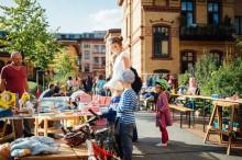 Hofflohmärkte in Lindenau  am Sonntag, 10. Juni 2018, von 11-16 Uhr | (c)nebenan.de/flea-markets