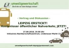 Vortrag und Diskussion: Kostenloser öffentlicher Nahverkehr, jetzt! |