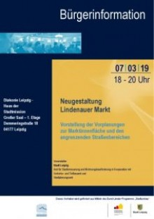 Bürgerinformation zur geplanten Neugestaltung des Lindenauer Marktes  |