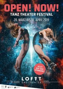 LOFFT - DAS THEATER Eröffnung in der Spinnerei OPEN! NOW! TANZ THEATER FESTIVAL vom 28.3.-18.4.2019 |
