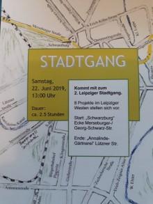 2. Leipziger Stadtgang. Alternative Stadtrundgänge: Quartiersakteure finden, Nachbarschaften stärken |