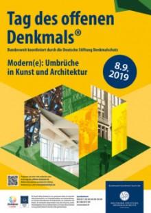 Tag des offenen Denkmals am Sonntag, 8. September 2019 |  © Deutsche Stiftung Denkmalschutz