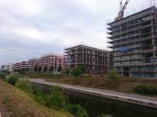 Sanierungssatzung Lindenauer Hafen soll 2021 aufgehoben werden | Neubauten an der Hafenstraße. Foto © Lindenauer Stadtteilverein e. V.
