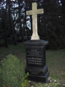 Friedhof Lindenau - Erkundungen am 11. und 18. August 2021 |